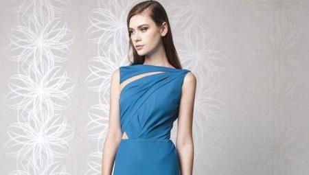 Вечерние платья из шелка натурального