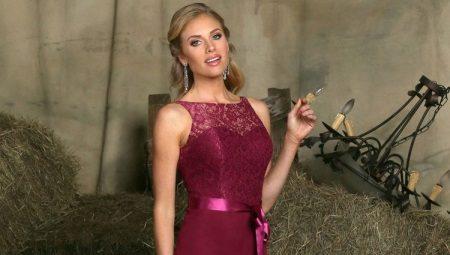 c8d28ec9a5fd52b Платье винного цвета: с чем носить, сочетания, туфли, аксессуары и ...
