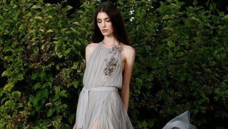 Шифоновые платья - легкость и воздушность