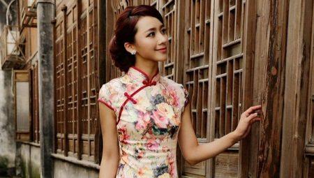 Платья в китайском стиле и национальные платья ципао
