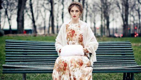 Платья в русском стиле - для яркого этнического образа