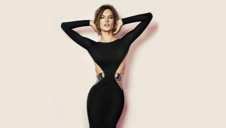 f3d9e84ce8c Черные вечерние платья  в пол
