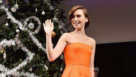 Оранжевое платье - для яркого образа
