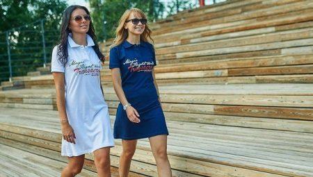 Платье-поло – прекрасное решение для активного отдыха