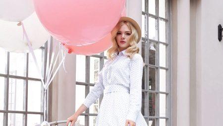 Платье-рубашка - от брутального до элегантного образа