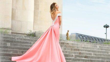 5822fb47eca Платья со шлейфом  красивые длинные и короткие спереди