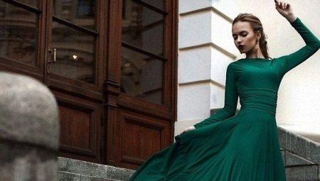 95f683901bb Платья с длинным рукавом  красивые трикотажные и вечерние варианты ...