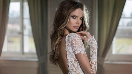 d7a283fcf6fcdb2 Свадебное платье с рукавами из кружева: варианты с длинными ...