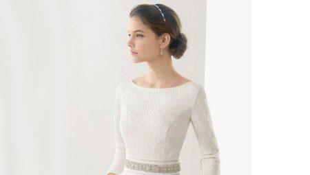 b3605c7ed1eb912 Закрытые свадебные платья с рукавами: короткими, длинными и 3/4 (30 ...