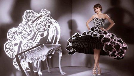 Платья из подручных материалов - от простых до самых экстравагантных образов