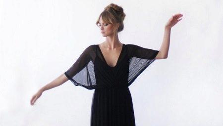 """Платье с рукавами """"летучая мышь"""" – вдохновение Японией"""