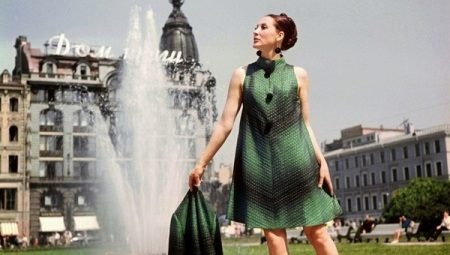 Платья в стиле 60-х - лаконичность и стиль