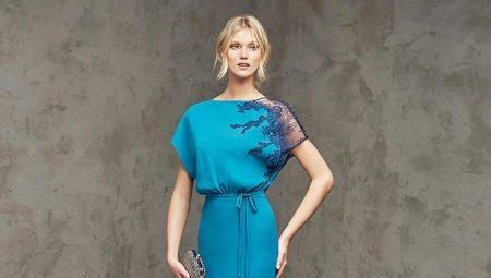 Выкройка платья с рукавом летучая мышь и технология пошива