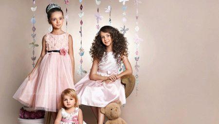 Фасоны платьев для девочек