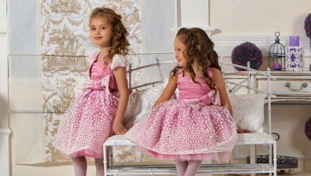 Короткие пышные платья для девочек