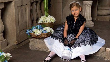 Картинки красивых платьев для девочек 6 лет