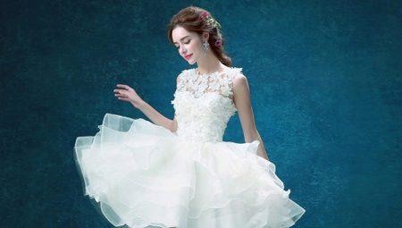Платья из органзы – легкость и воздушность