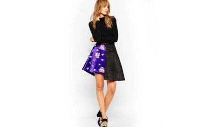 Асимметричная юбка – нотка оригинальности в образе
