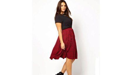Как выбрать подходящую юбку для полной женщины