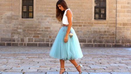Многослойные и многоярусные юбки