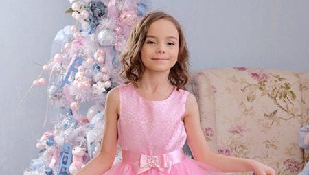 9ac3190cb82 Новогодние платья для девочек от 3 до 12 лет  праздничные образы на ...