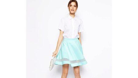 Юбки клеш: как выбрать расклешенную юбку и с чем ее носить?