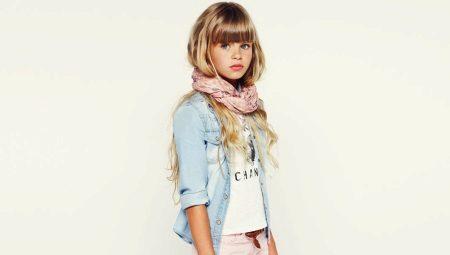 Джинсовые куртки для девочек – детская мода этого года