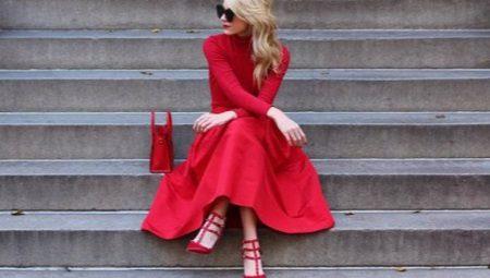 02a88aa9dd1 С чем носить красное платье (69 фото)  с чем можно носить платье ...