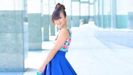 Синие юбки