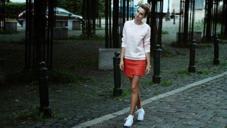 72ebfa256c2 Юбка с кроссовками (69 фото)  юбка карандаш