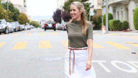 b16d5a5c1cf1d61 Юбки из льна (75 фото): с чем носить льняные юбки, фасоны, летние ...