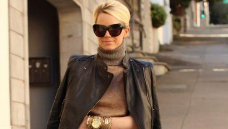 Женские куртки из натуральной кожи