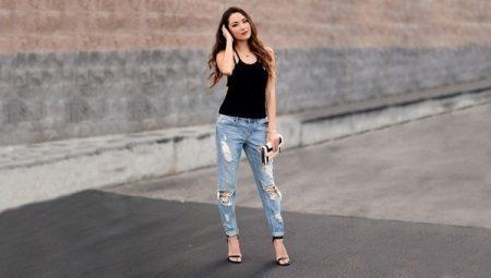 Как на джинсах сделать потертости?