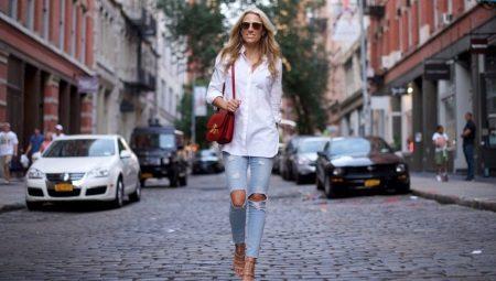 Как сделать рваные джинсы своими руками?