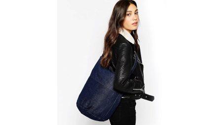 kak-sdelat-sumku-iz-dzhinsov-svoimi-rukami--228 Как сделать сумку из джинсов своими руками: выкройки, мастер-класс как сшить