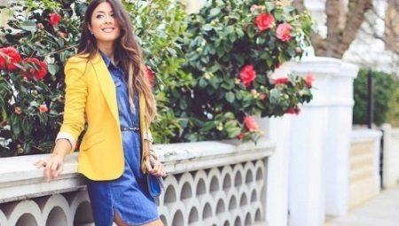 С чем носить желтый пиджак?