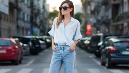 61c1b56af78 Джинсы-бойфренды (99 фото)  модные луки в джинсах boyfriend и ...