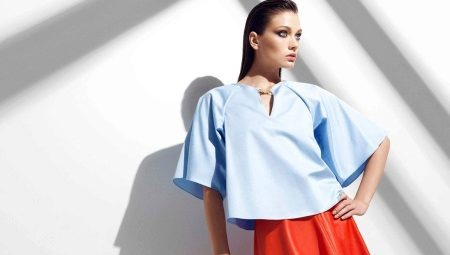 3cb1615d081 Блузки с коротким рукавом (59 фото)  блузы из атласа