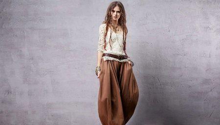 штаны шаровары фото женские