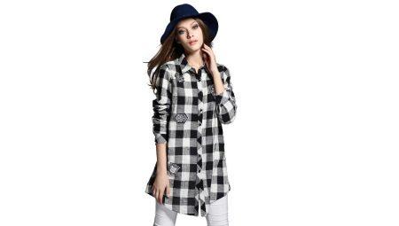 579b66225fc Длинные рубашки женские (105 фото)  модные и стильные модели с ...
