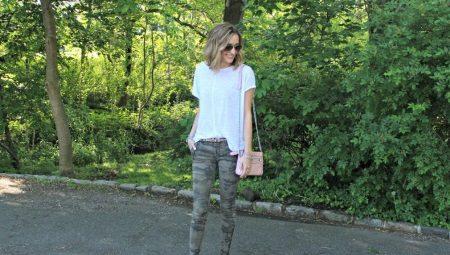269ab901a6caf Камуфляжные женские брюки (52 фото): модные тенденции 2019, с чем ...