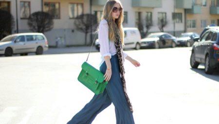 Модные брюки палаццо