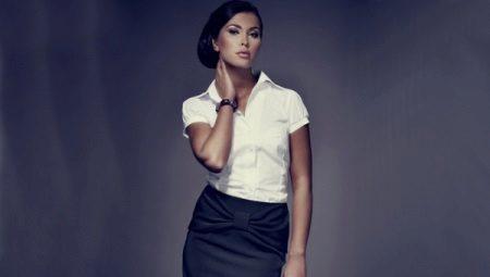 b5ae4840a7a0a71 Женские рубашки с коротким рукавом (89 фото): стильные на выпуск ...