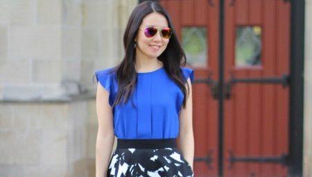 Синие блузки
