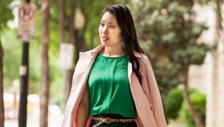 Зеленые блузки