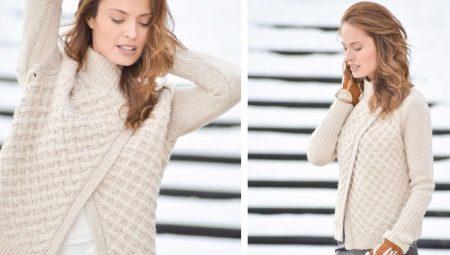 вязаный свитер 175 фото крупной вязки для девушек на весну