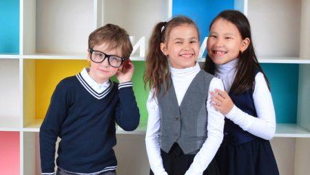 Водолазки для девочек в школу