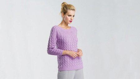 Вязаные пуловеры 2018