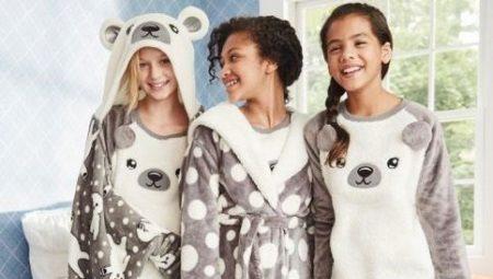 Детские флисовые пижамы