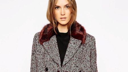 8dde0beb294 Пальто из твида (153 фото твидовых пальто)  с чем носить женские ...